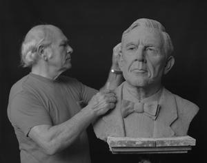 Primary view of [Artist Sculpting]