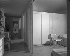 Primary view of object titled '[Interior of a Mid-Century Modern Home]'.