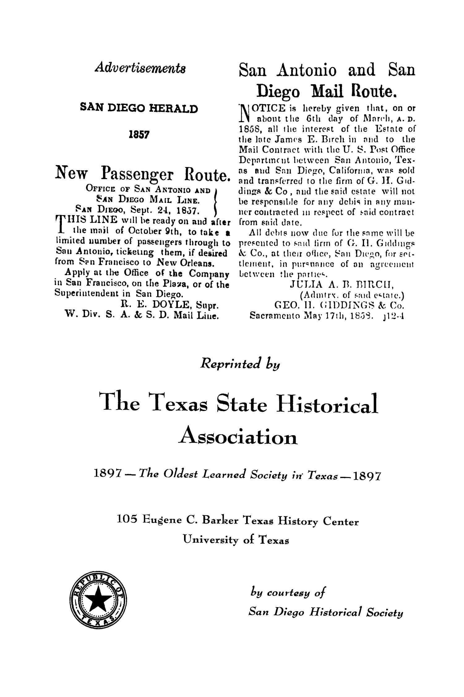 The Southwestern Historical Quarterly, Volume 57, July 1953 - April, 1954                                                                                                      None