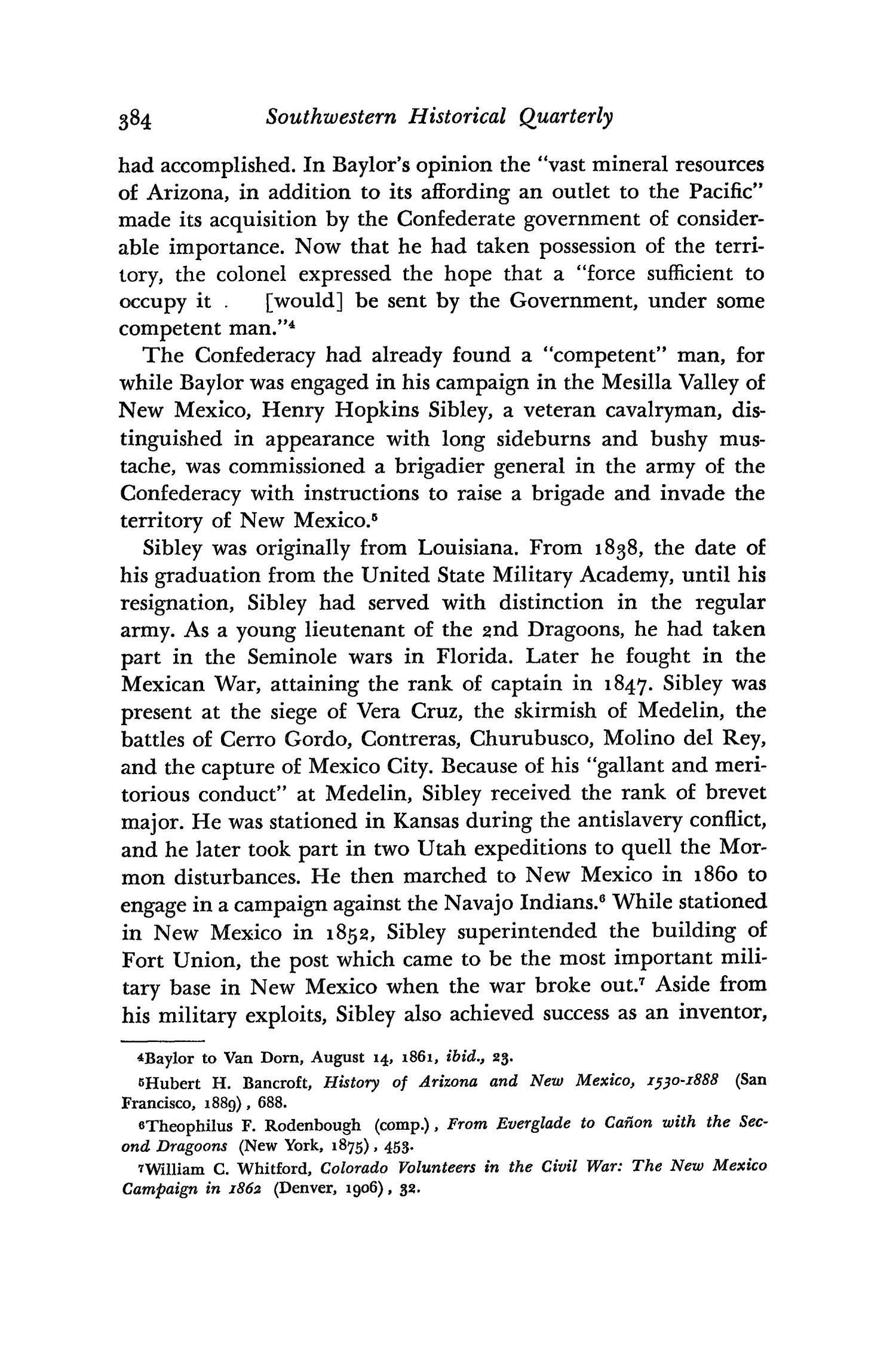 The Southwestern Historical Quarterly, Volume 61, July 1957 - April, 1958                                                                                                      384