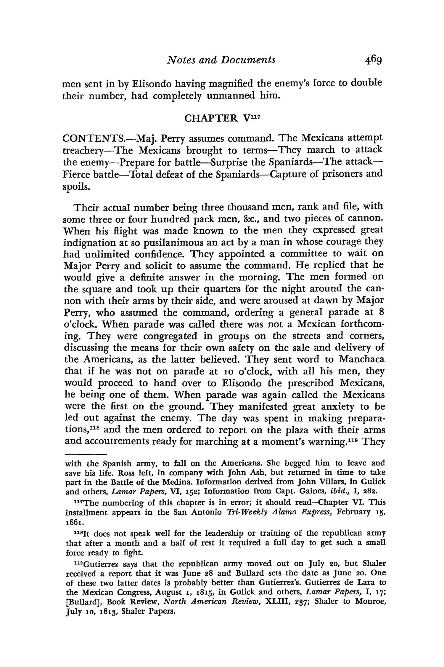 The Southwestern Historical Quarterly, Volume 66, July 1962 - April, 1963                                                                                                      469