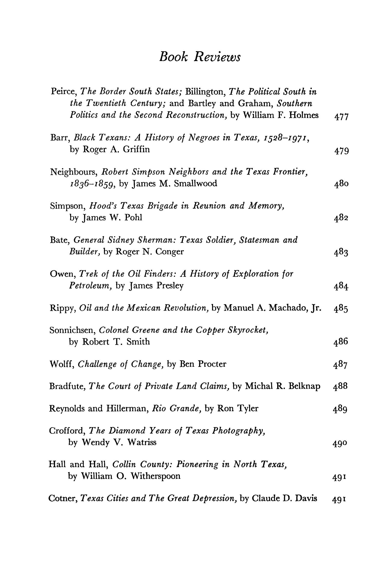 The Southwestern Historical Quarterly, Volume 79, July 1975 - April, 1976                                                                                                      None