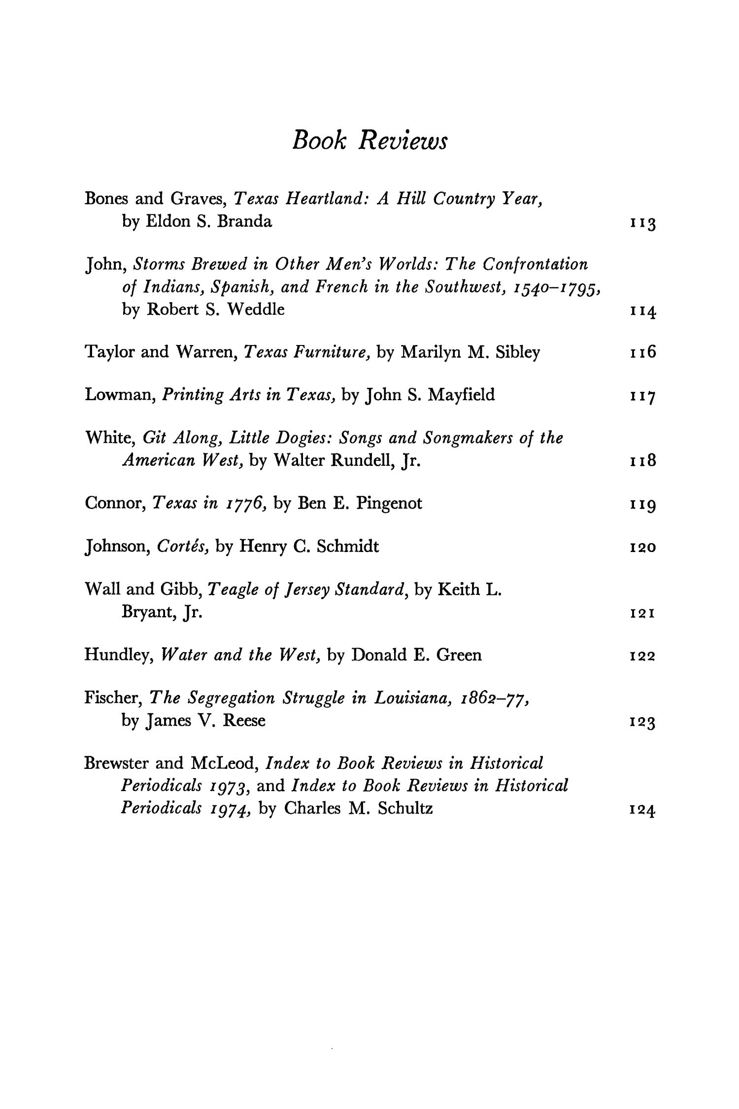 The Southwestern Historical Quarterly, Volume 80, July 1976 - April, 1977                                                                                                      None
