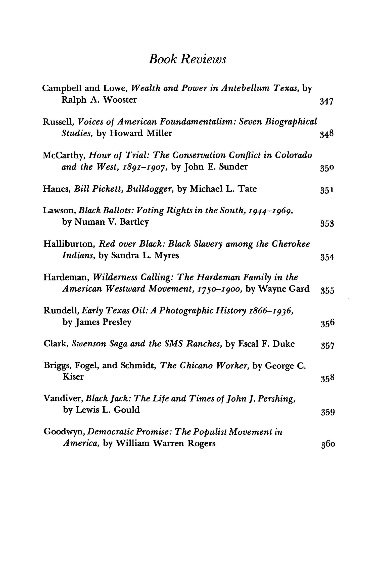 The Southwestern Historical Quarterly, Volume 81, July 1977 - April, 1978                                                                                                      None
