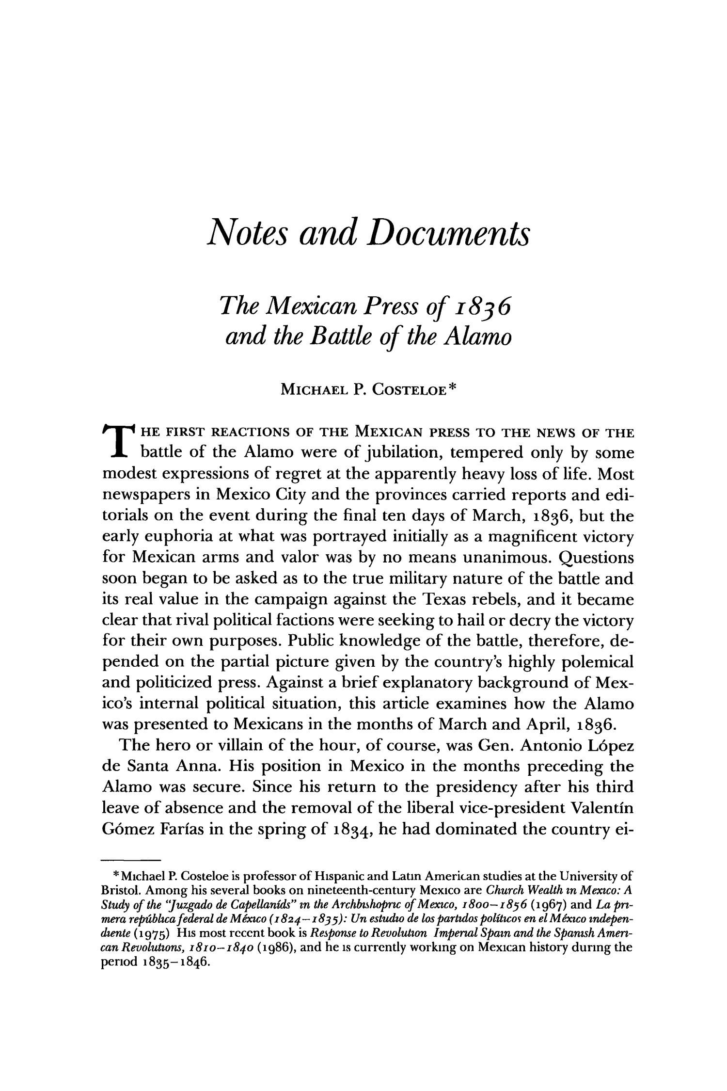The Southwestern Historical Quarterly, Volume 91, July 1987 - April, 1988                                                                                                      533