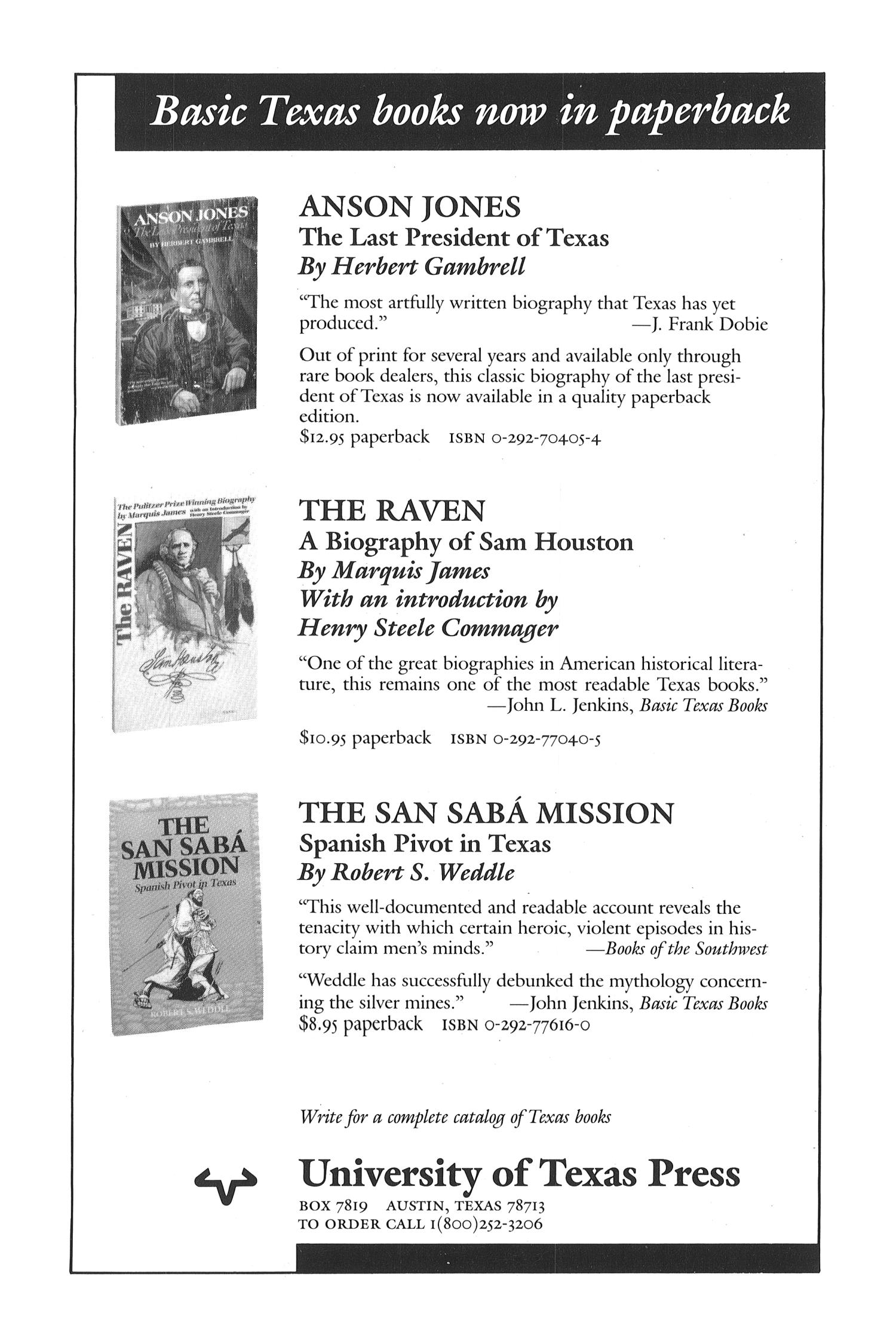 The Southwestern Historical Quarterly, Volume 92, July 1988 - April, 1989                                                                                                      None