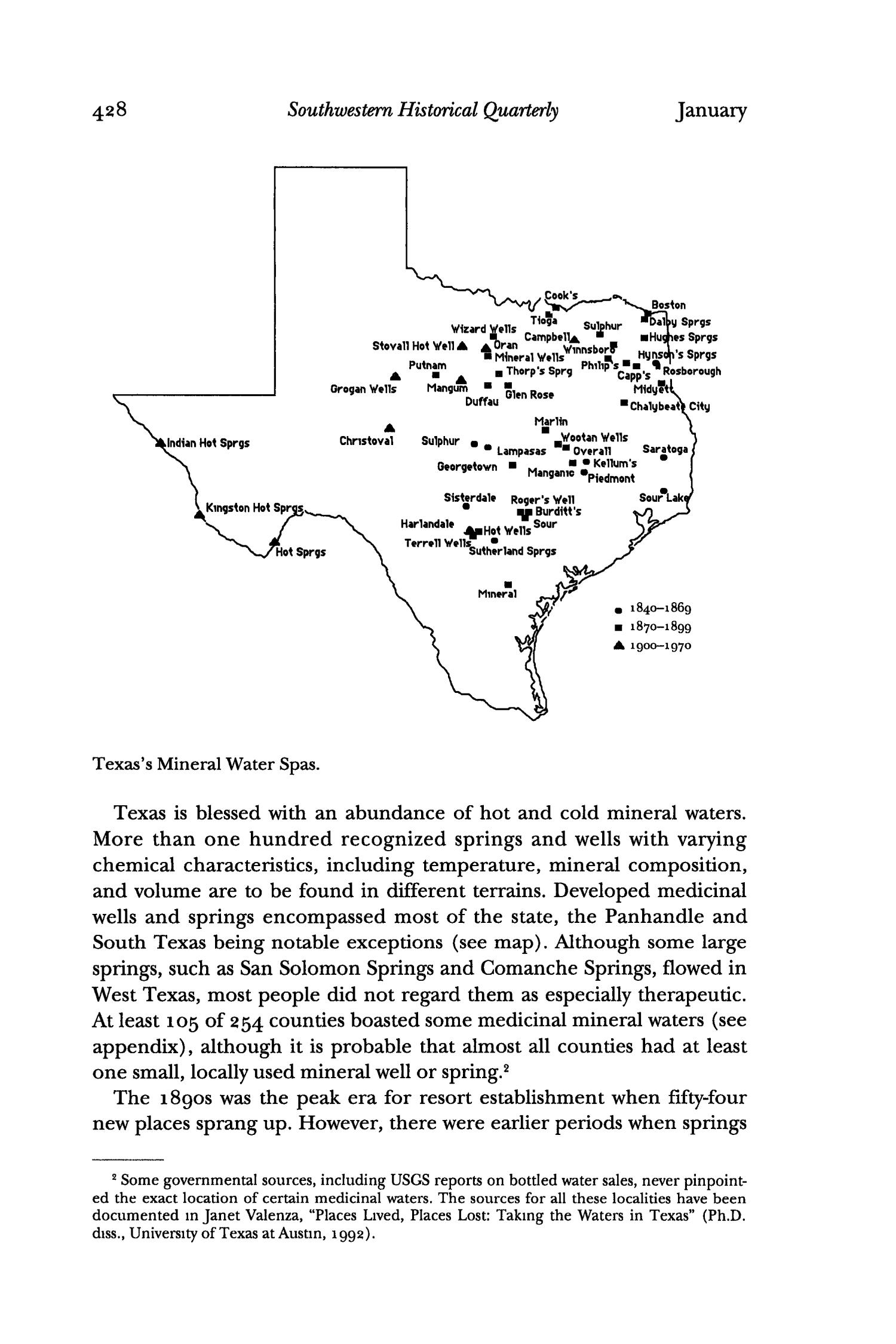 The Southwestern Historical Quarterly, Volume 98, July 1994 - April, 1995                                                                                                      428