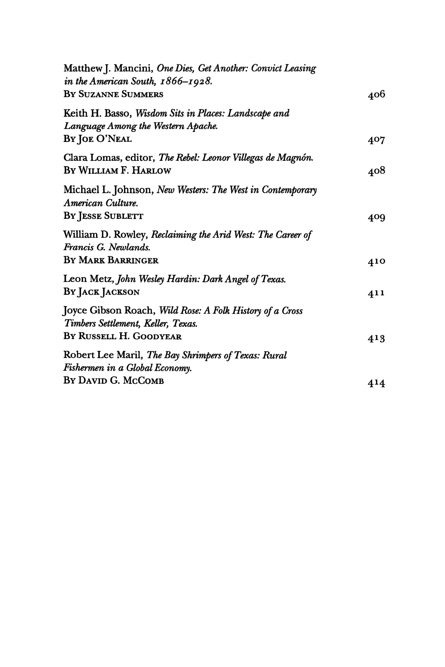 The Southwestern Historical Quarterly, Volume 100, July 1996 - April, 1997                                                                                                      None