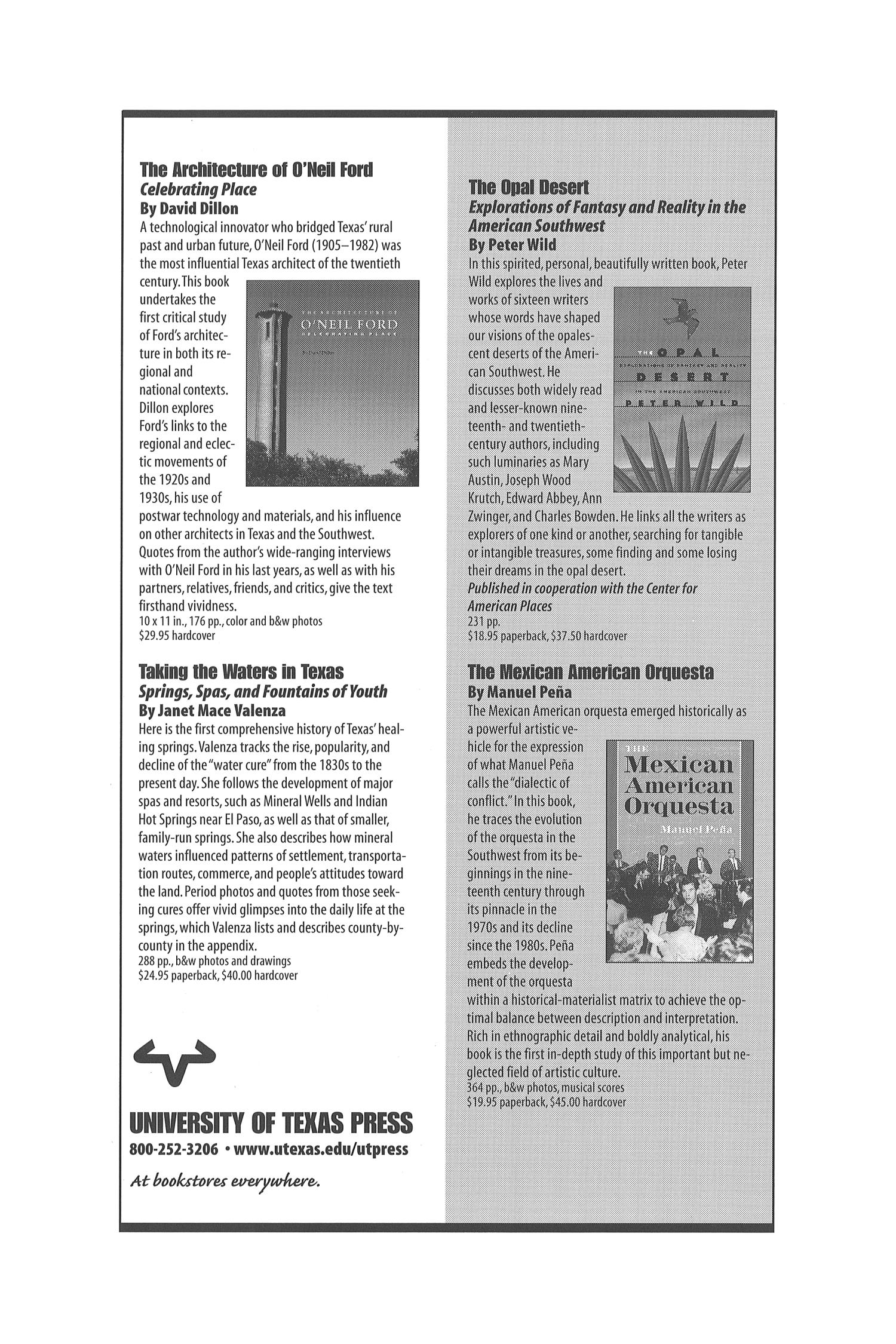 The Southwestern Historical Quarterly, Volume 103, July 1999 - April, 2000                                                                                                      None