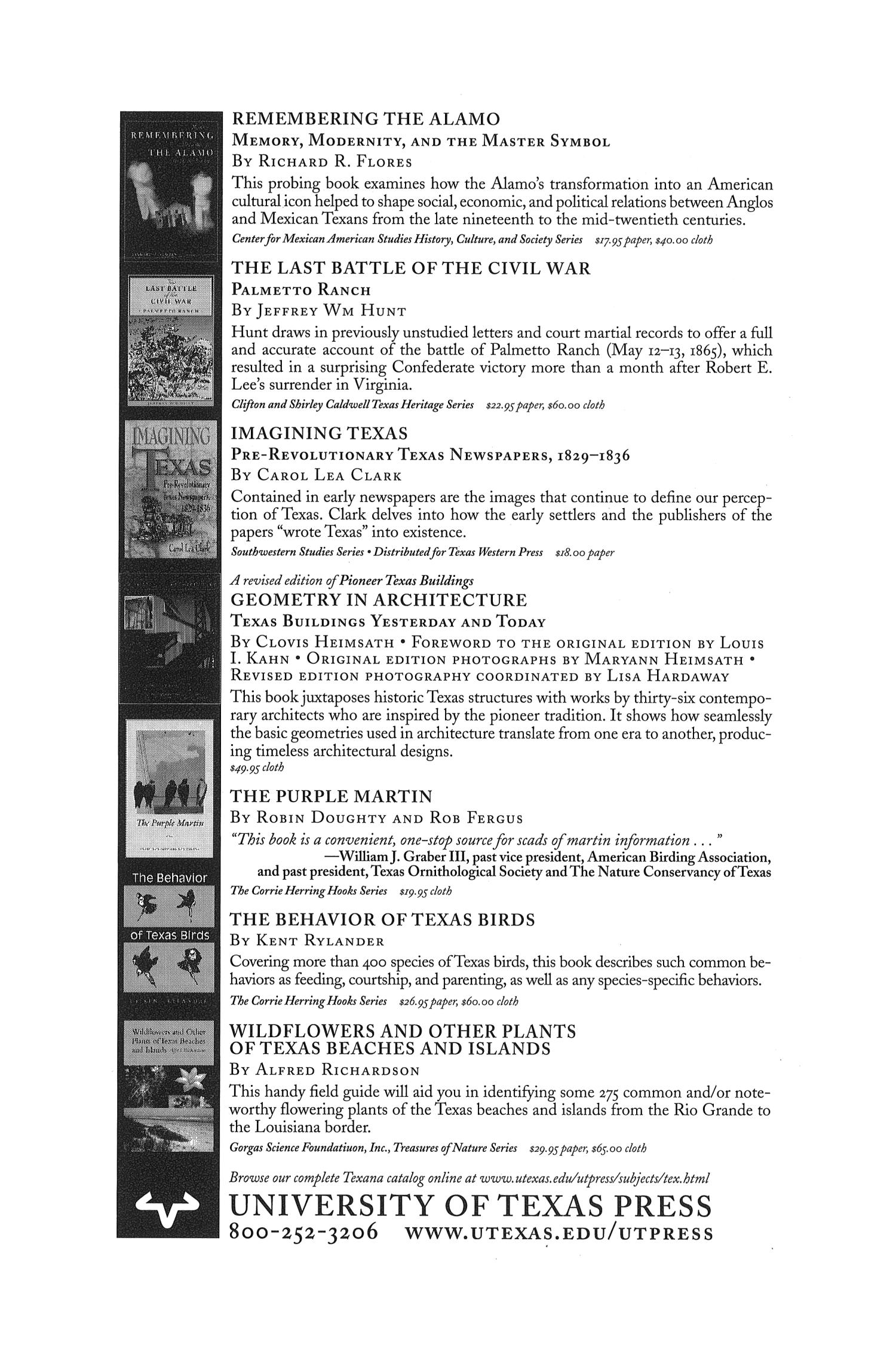 The Southwestern Historical Quarterly, Volume 106, July 2002 - April, 2003                                                                                                      None