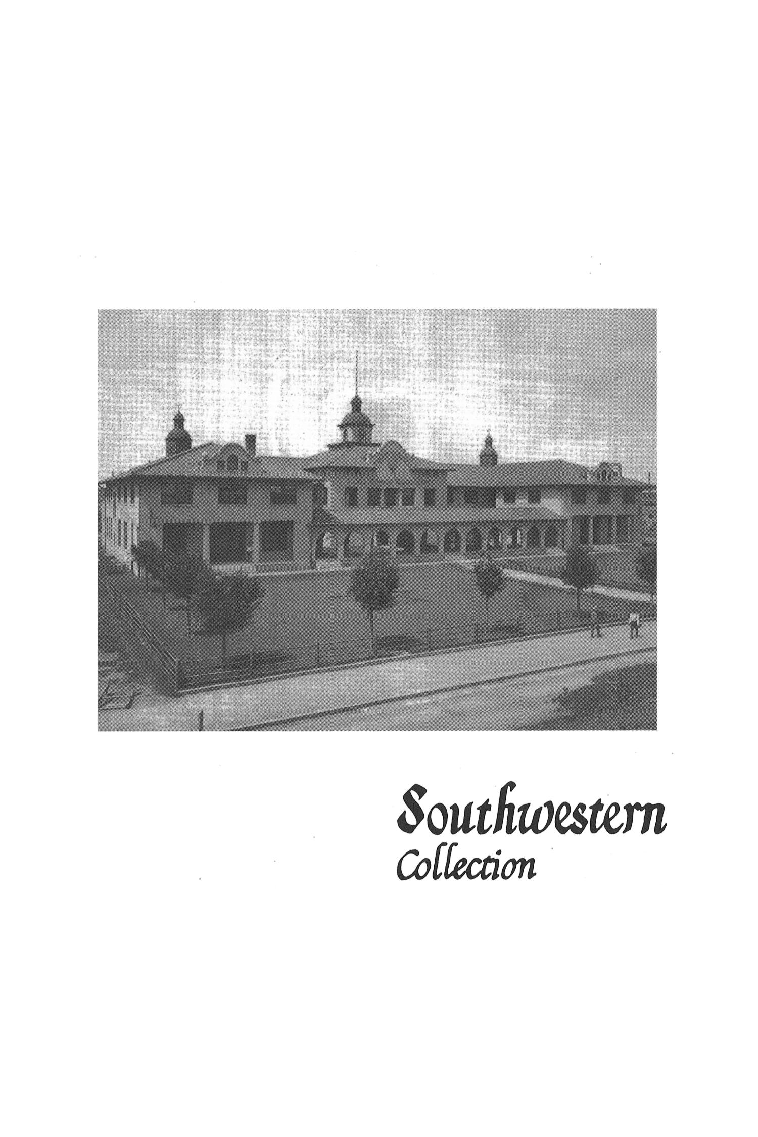 The Southwestern Historical Quarterly, Volume 107, July 2003 - April, 2004                                                                                                      459