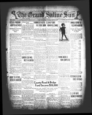 Primary view of The Grand Saline Sun (Grand Saline, Tex.), Vol. 43, No. 17, Ed. 1 Thursday, March 11, 1937