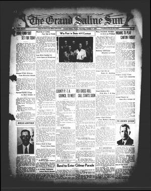 Primary view of The Grand Saline Sun (Grand Saline, Tex.), Vol. 43, No. 47, Ed. 1 Thursday, October 7, 1937