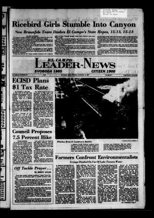 El Campo Leader-News (El Campo, Tex.), Vol. 99, No. 69, Ed. 1 Saturday, November 19, 1983