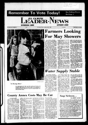El Campo Leader-News (El Campo, Tex.), Vol. 99B, No. 13, Ed. 1 Saturday, May 5, 1984