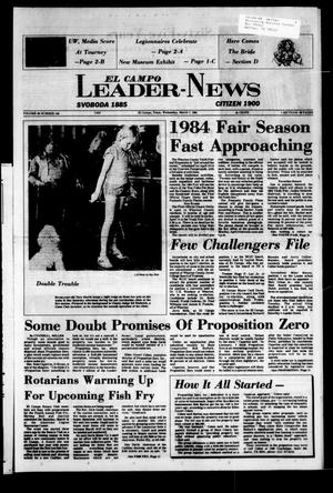 El Campo Leader-News (El Campo, Tex.), Vol. 99, No. 100, Ed. 1 Wednesday, March 7, 1984