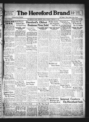 The Hereford Brand (Hereford, Tex.), Vol. 38, No. 6, Ed. 1 Thursday, February 10, 1938