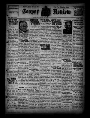 Cooper Review (Cooper, Tex.), Vol. 56, No. 43, Ed. 1 Friday, October 25, 1935
