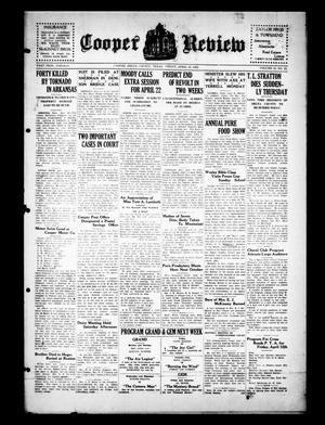 Cooper Review (Cooper, Tex.), Vol. 50, No. 15, Ed. 1 Friday, April 12, 1929