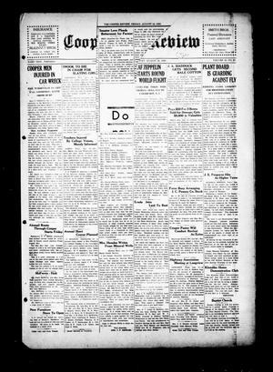 Cooper Review (Cooper, Tex.), Vol. 50, No. 33, Ed. 1 Friday, August 16, 1929