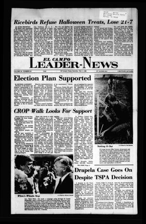 El Campo Leader-News (El Campo, Tex.), Vol. 101, No. 65, Ed. 1 Saturday, November 1, 1986