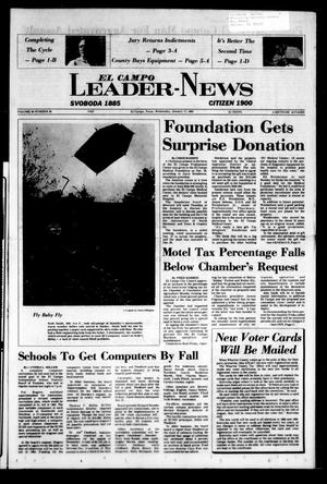 El Campo Leader-News (El Campo, Tex.), Vol. 99, No. 84, Ed. 1 Wednesday, January 11, 1984