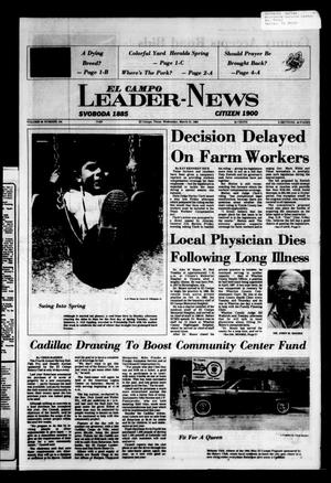 El Campo Leader-News (El Campo, Tex.), Vol. 99, No. 104, Ed. 1 Wednesday, March 21, 1984