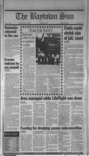Primary view of The Baytown Sun (Baytown, Tex.), Vol. 77, No. 227, Ed. 1 Thursday, July 22, 1999