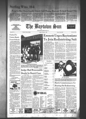 Primary view of object titled 'The Baytown Sun (Baytown, Tex.), Vol. 60, No. 1, Ed. 1 Sunday, November 1, 1981'.