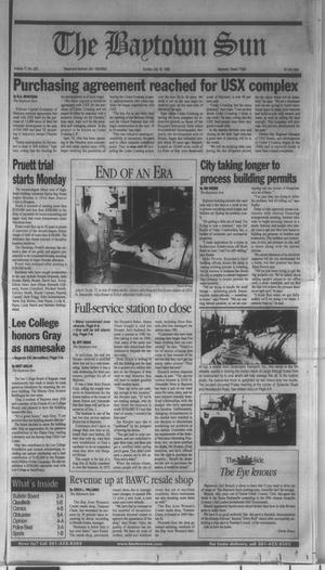 Primary view of object titled 'The Baytown Sun (Baytown, Tex.), Vol. 77, No. 223, Ed. 1 Sunday, July 18, 1999'.