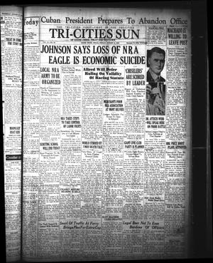 Primary view of The Tri-Cities Sun (Goose Creek, Tex.), Vol. 15, No. 60, Ed. 1 Friday, August 11, 1933