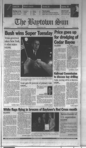 Primary view of object titled 'The Baytown Sun (Baytown, Tex.), Vol. 78, No. 111, Ed. 1 Wednesday, March 8, 2000'.