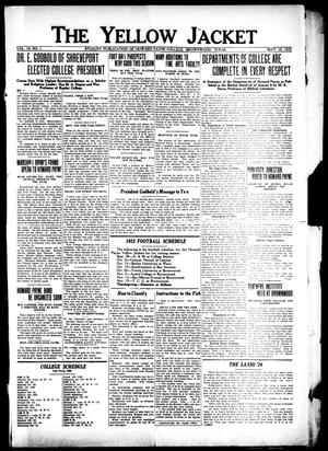 The Yellow Jacket (Brownwood, Tex.), Vol. 10, No. 1, Ed. 1, Monday, September 10, 1923