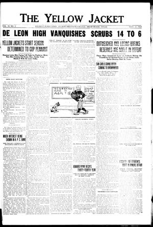 The Yellow Jacket (Brownwood, Tex.), Vol. 10, No. 2, Ed. 1, Friday, September 21, 1923