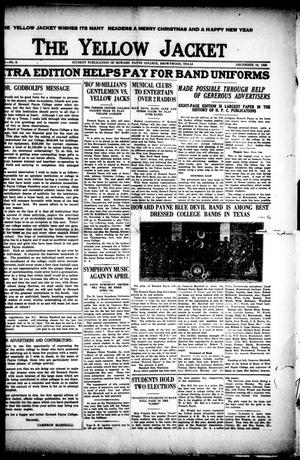 The Yellow Jacket (Brownwood, Tex.), Vol. 10, No. 8, Ed. 1, Tuesday, December 18, 1923