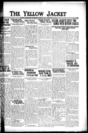The Yellow Jacket (Brownwood, Tex.), Vol. 10, No. 17, Ed. 1, Friday, May 2, 1924