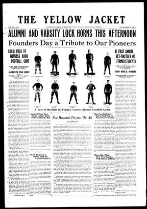 The Yellow Jacket (Brownwood, Tex.), Vol. 11, No. 4, Ed. 1, Wednesday, September 24, 1924