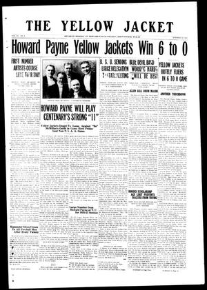 The Yellow Jacket (Brownwood, Tex.), Vol. 11, No. 8, Ed. 1, Thursday, October 30, 1924