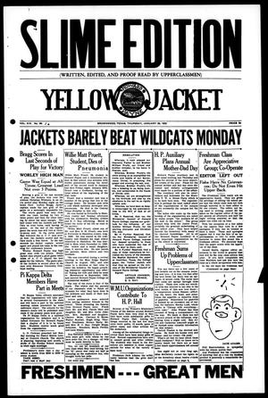 Primary view of object titled 'Yellow Jacket (Brownwood, Tex.), Vol. 19, No. 16, Ed. 1, Thursday, January 26, 1933'.