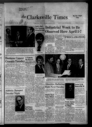 The Clarksville Times (Clarksville, Tex.), Vol. 101, No. 11, Ed. 1 Thursday, March 29, 1973