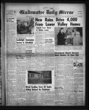 Primary view of object titled 'Gladewater Daily Mirror (Gladewater, Tex.), Vol. 5, No. 226, Ed. 1 Thursday, April 15, 1954'.