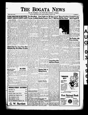 The Bogata News (Bogata, Tex.), Vol. 51, No. 43, Ed. 1 Thursday, August 3, 1961
