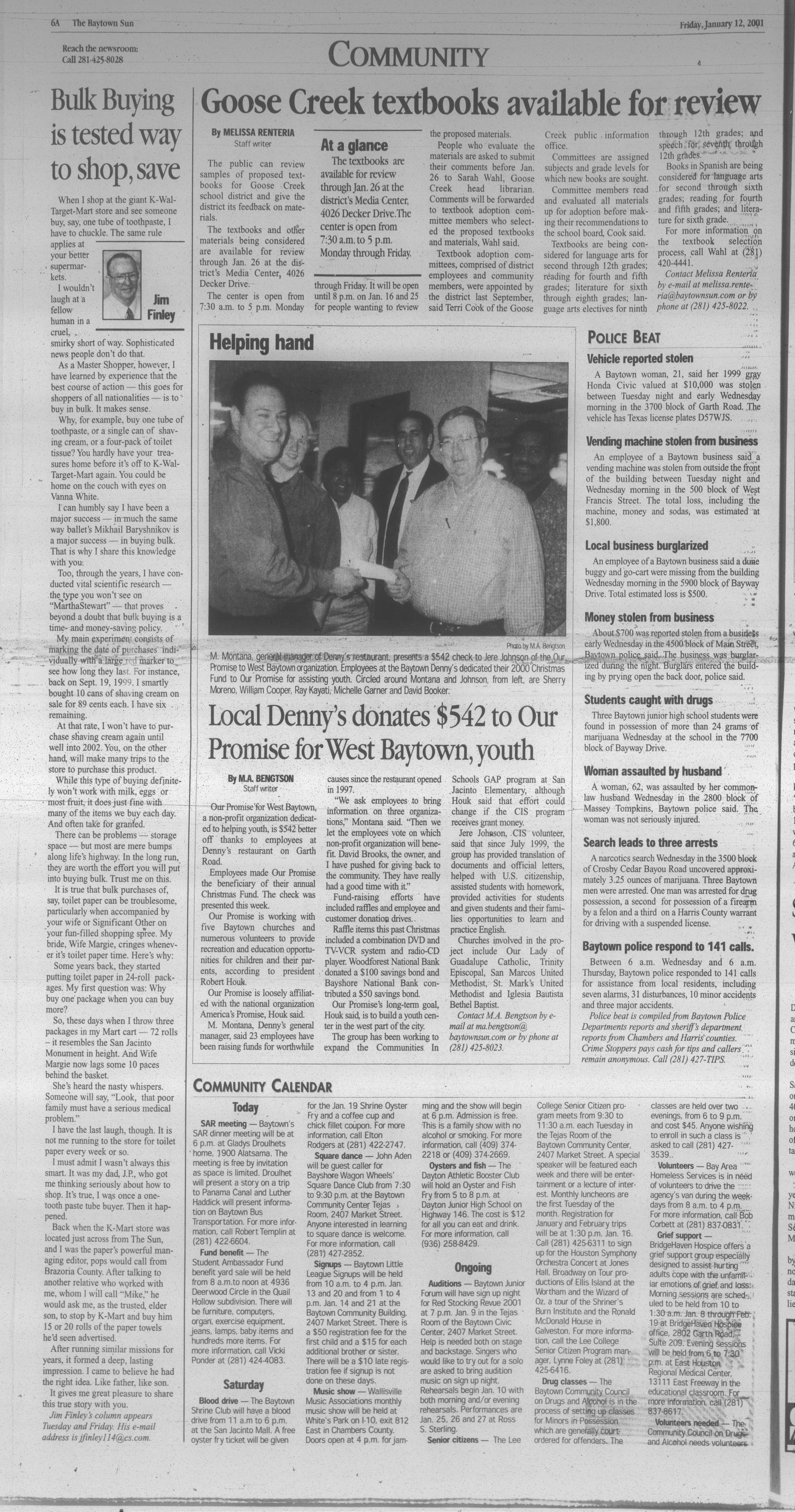 The Baytown Sun (Baytown, Tex ), Vol  79, No  47, Ed  1