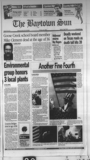 Primary view of object titled 'The Baytown Sun (Baytown, Tex.), Vol. 76, No. 212, Ed. 1 Monday, July 6, 1998'.