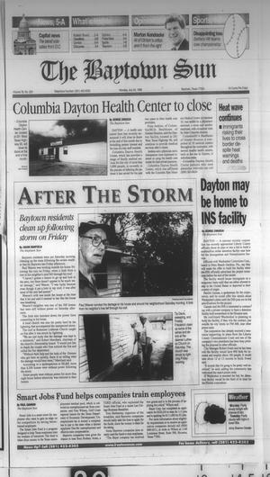 Primary view of object titled 'The Baytown Sun (Baytown, Tex.), Vol. 76, No. 224, Ed. 1 Monday, July 20, 1998'.