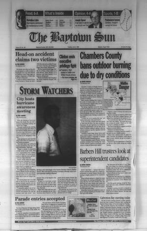 Primary view of object titled 'The Baytown Sun (Baytown, Tex.), Vol. 76, No. 183, Ed. 1 Tuesday, June 2, 1998'.