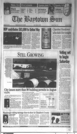 Primary view of object titled 'The Baytown Sun (Baytown, Tex.), Vol. 76, No. 300, Ed. 1 Friday, October 16, 1998'.