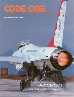 Code One, Volume 2, Number 1, Winter 1986-1987