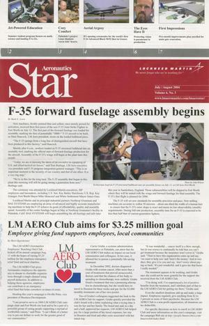 Aeronautics Star, Volume 6, Number 3, July/August 2004