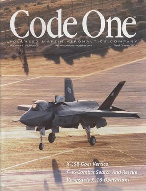 Code One, Volume 16, Number 3, Third Quarter 2001